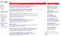 Resultados orgánicos y resultados pagos en Google.