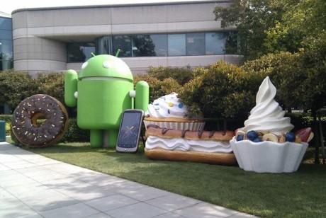 Estatuas Android
