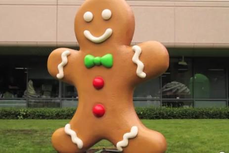 Estatua Gingerbread