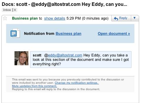 Google Docs Discussions 2