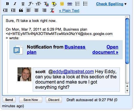 Google Docs Discussions 3