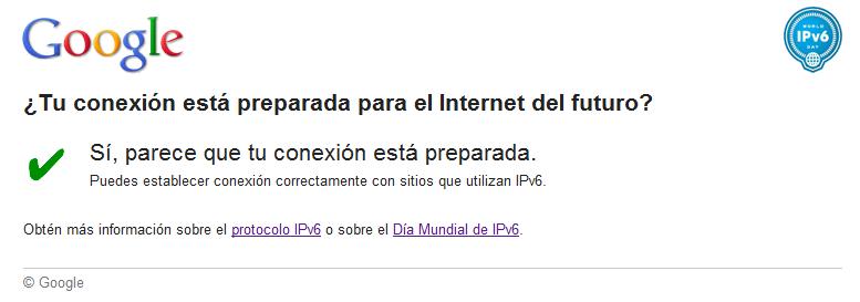 IPv6 - Google Checker