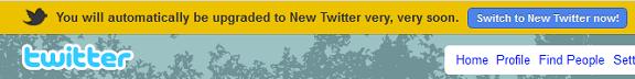 bye-old-twitter
