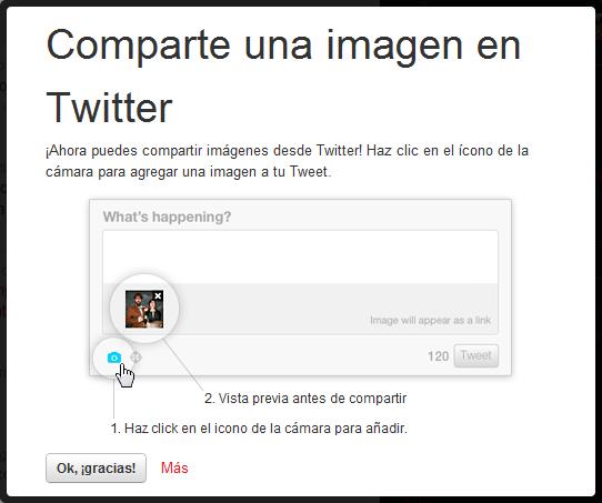 Twitter - Captura de pantalla