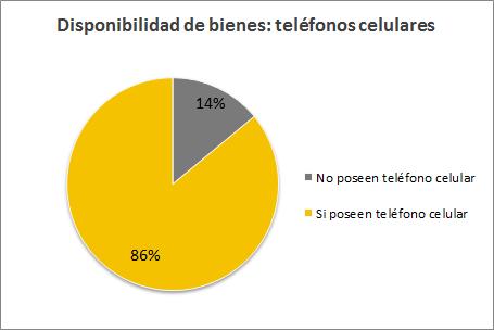 Censo Nacional de Población 2010 - Celulares por hogar
