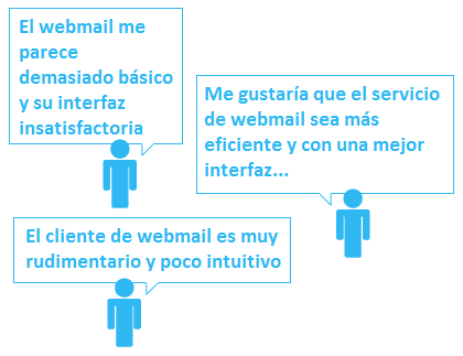 Testimonios Webmail