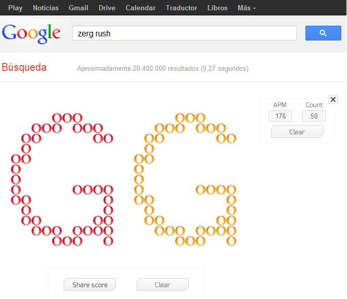 Zerg Rush El Nuevo Juego Escondido De Google Xmundo Networks Blog